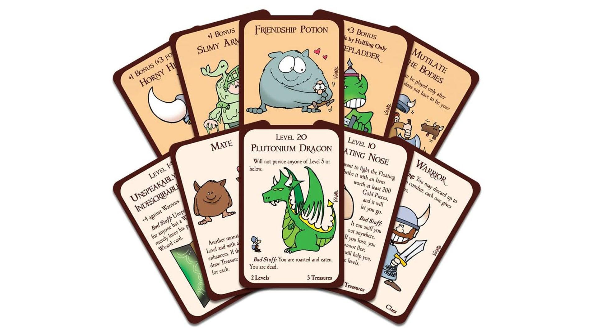 Munchkin board game cards