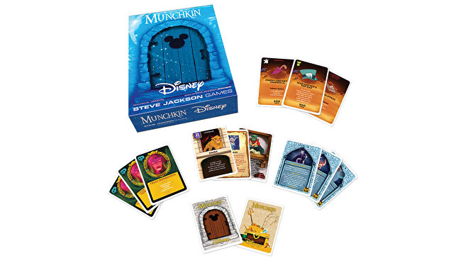 Munchkin: Disney board game layout
