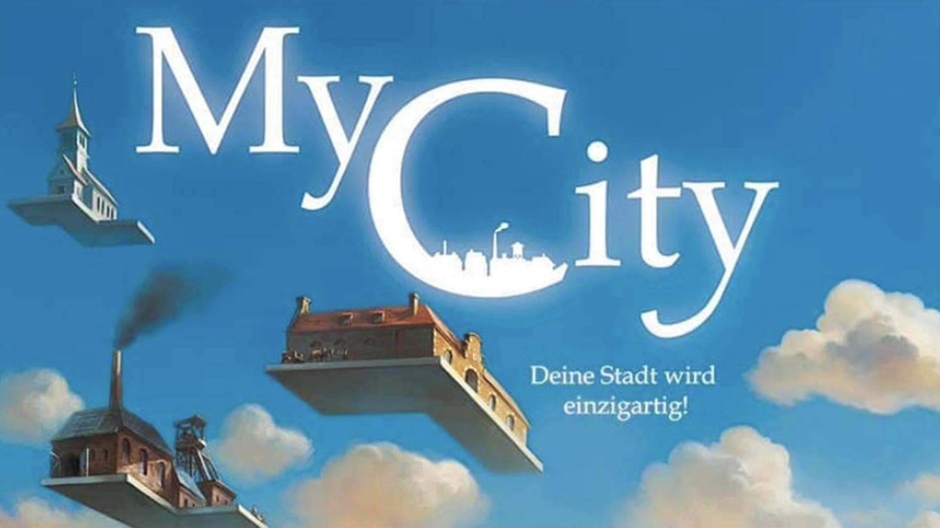 My City board game artwork