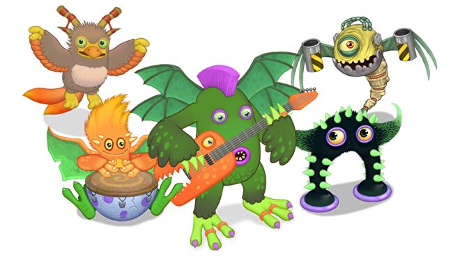 My Singing Monsters: The Board Game artwork