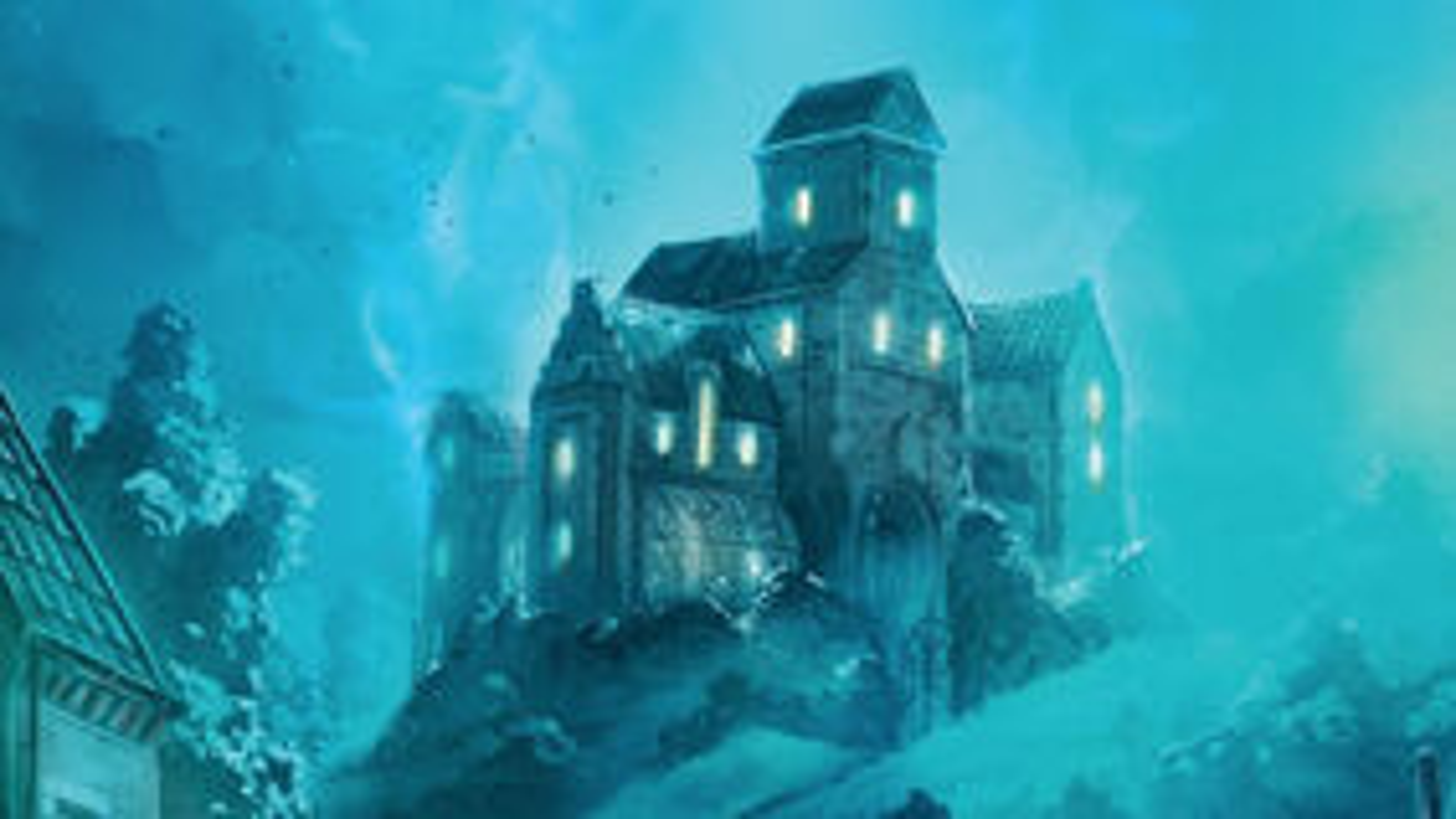 Mysterium horror board game box artwork