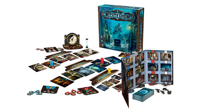 Mysterium horror board game gameplay layout
