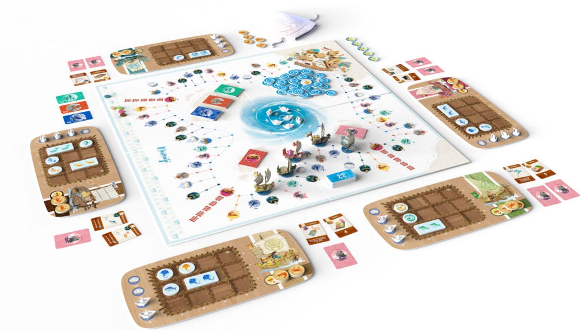 Namiji board game kickstarter artwork
