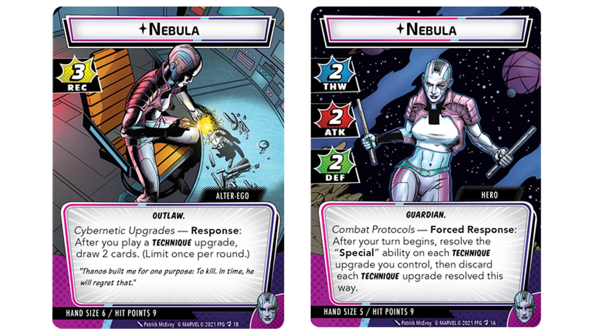 Nebula Hero Deck Marvel Champions 2