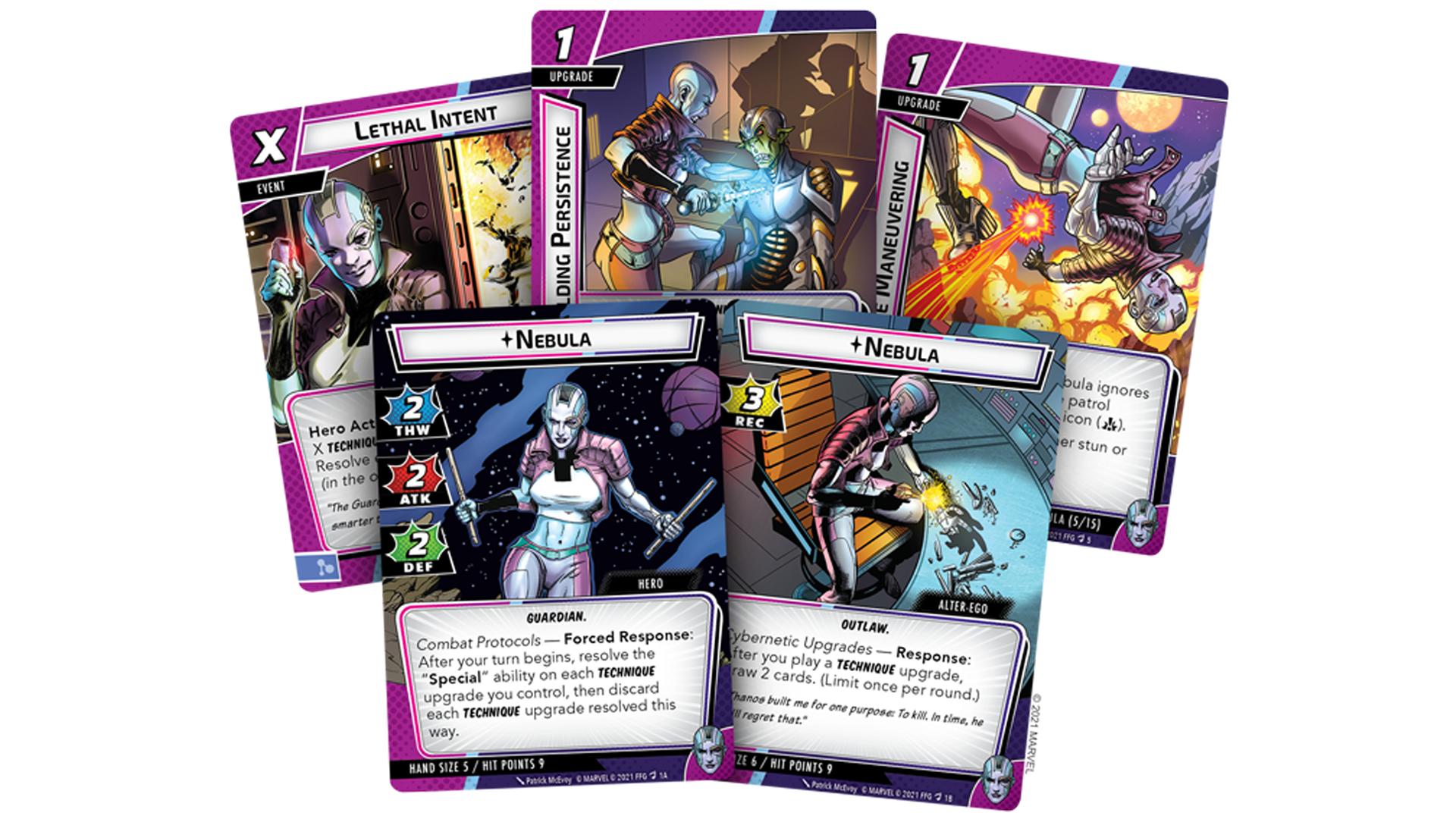 Nebula Hero Deck Marvel Champions