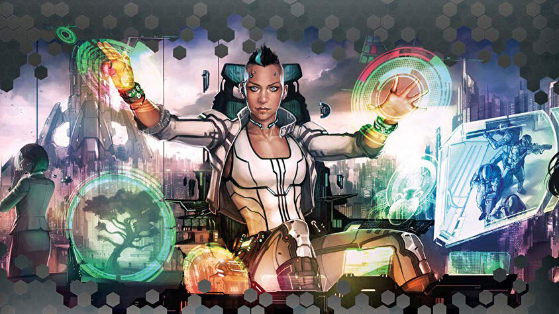 Netrunner: The Card Game trading card game artwork