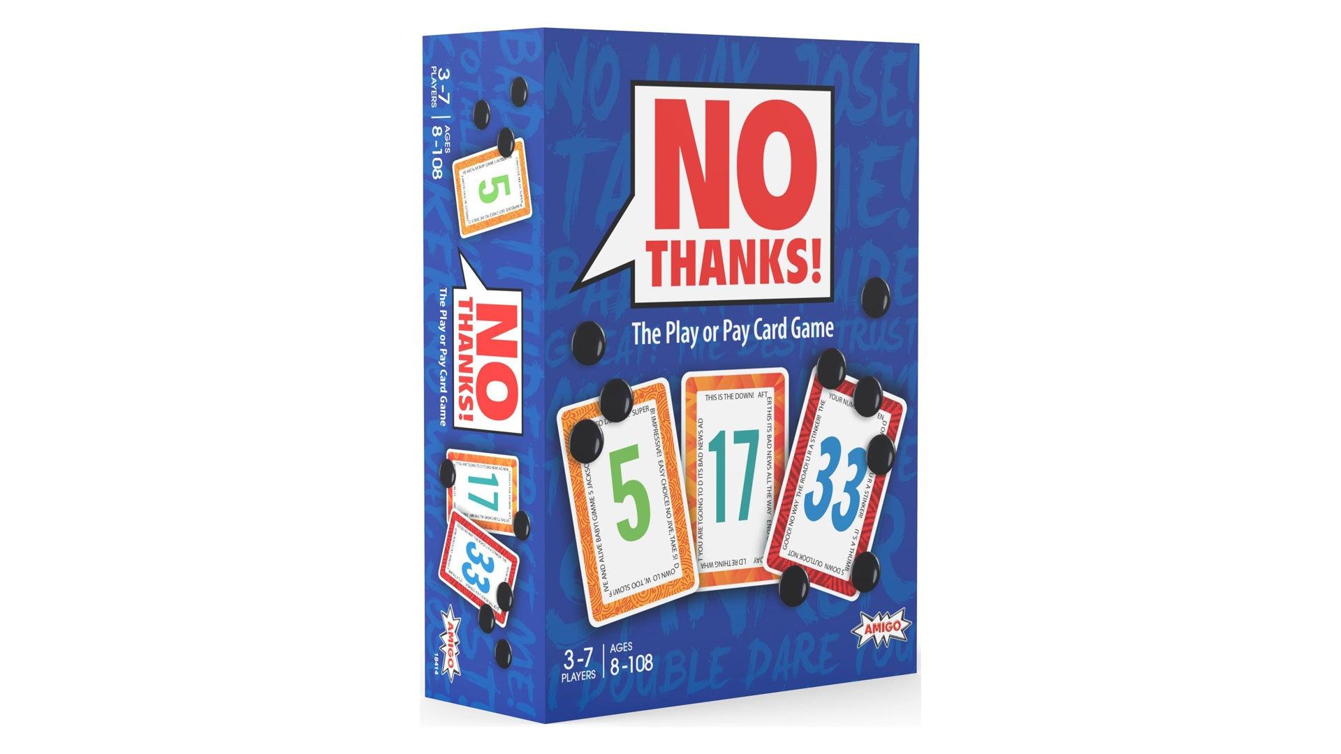 No Thanks! beginner board game box