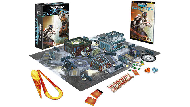 Operation Kaldstrom Infinity Codeone miniatures game layout