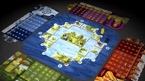 Image for Oceanic worker-placement puzzler Oros looks fun, except for the appropriative aesthetic