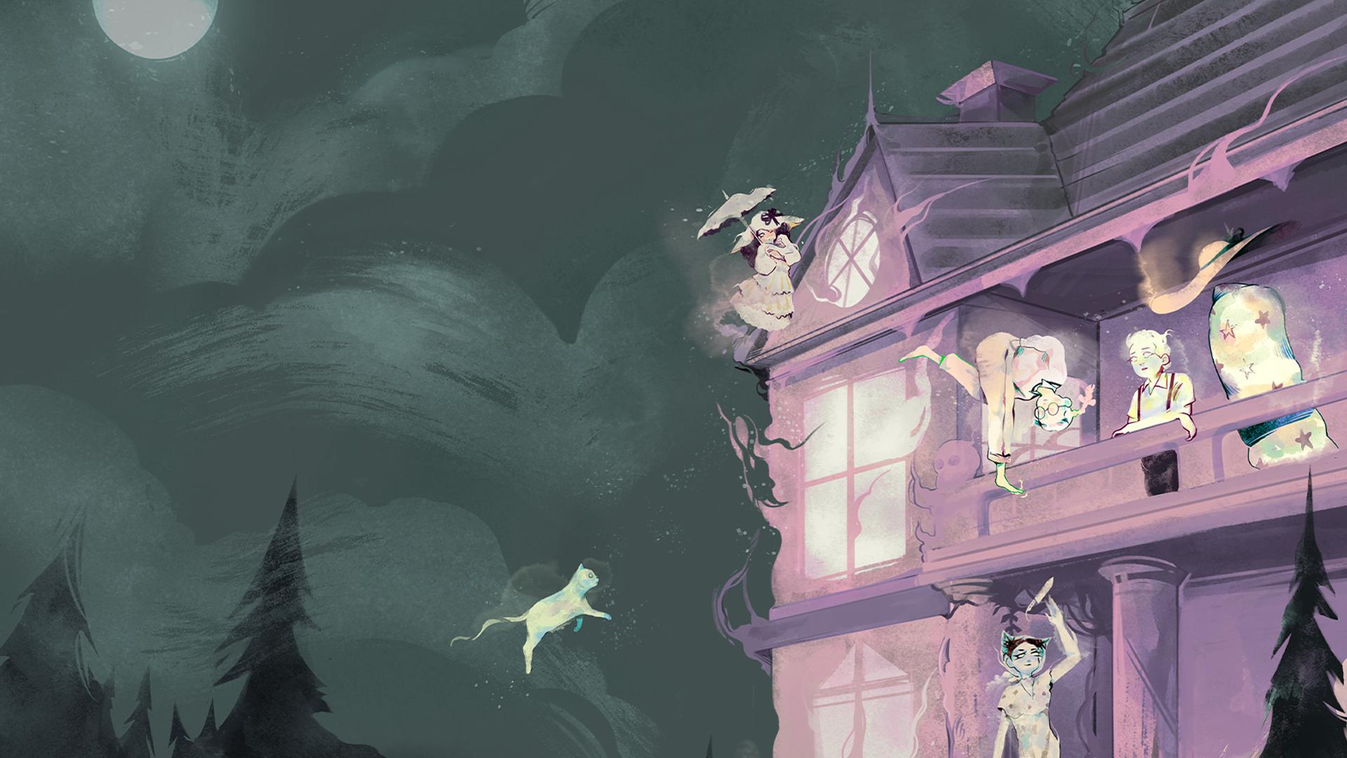 Our Haunt RPG artwork cover