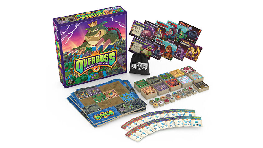 Overboss board game layout