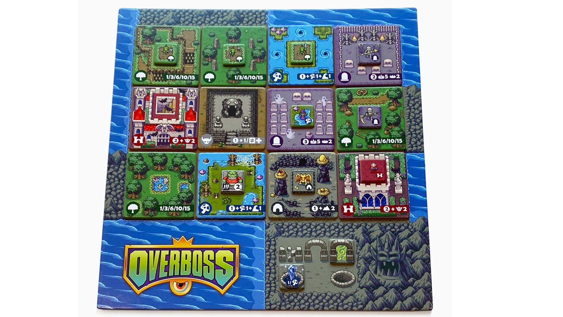 Overboss game board