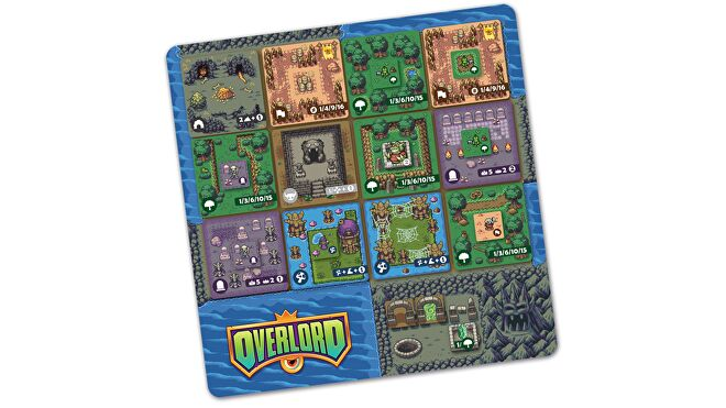 Overlord board game card