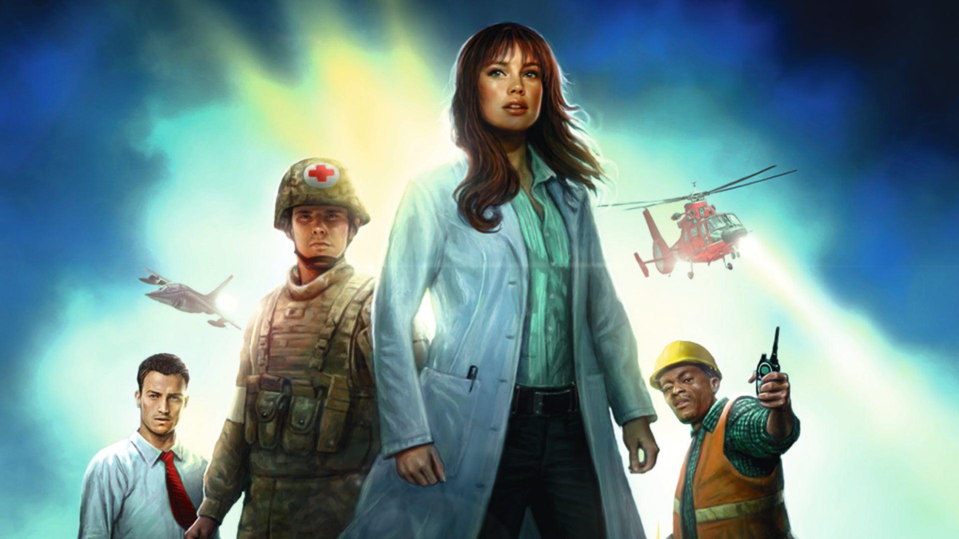 Pandemic beginner board game box artwork