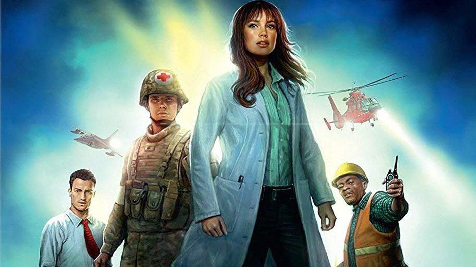 Pandemic board game artwork.