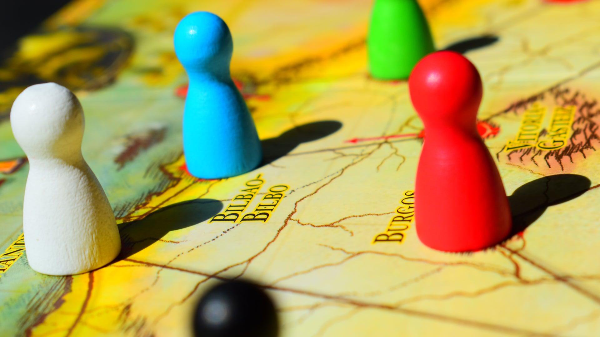 Pandemic Iberia co-op board game photo