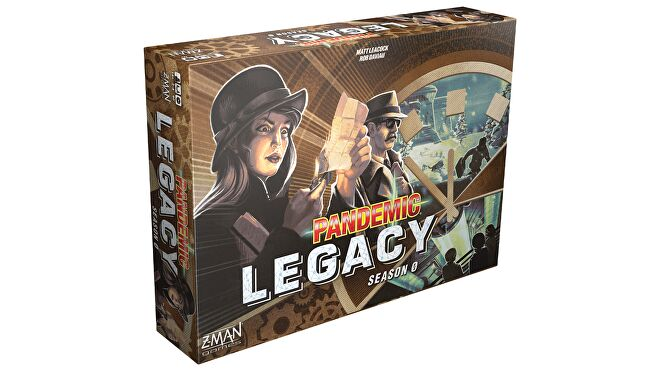 Pandemic Legacy: Season 0 board game components and gameplay