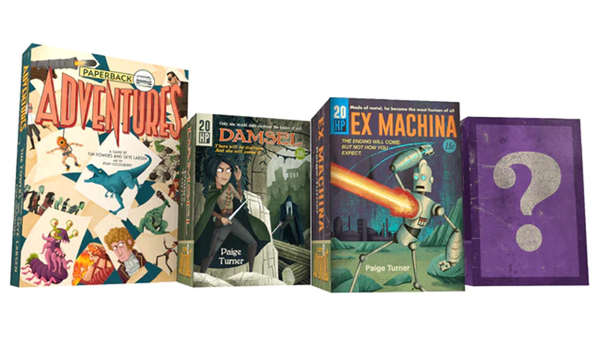 Paperback Adventures boxes