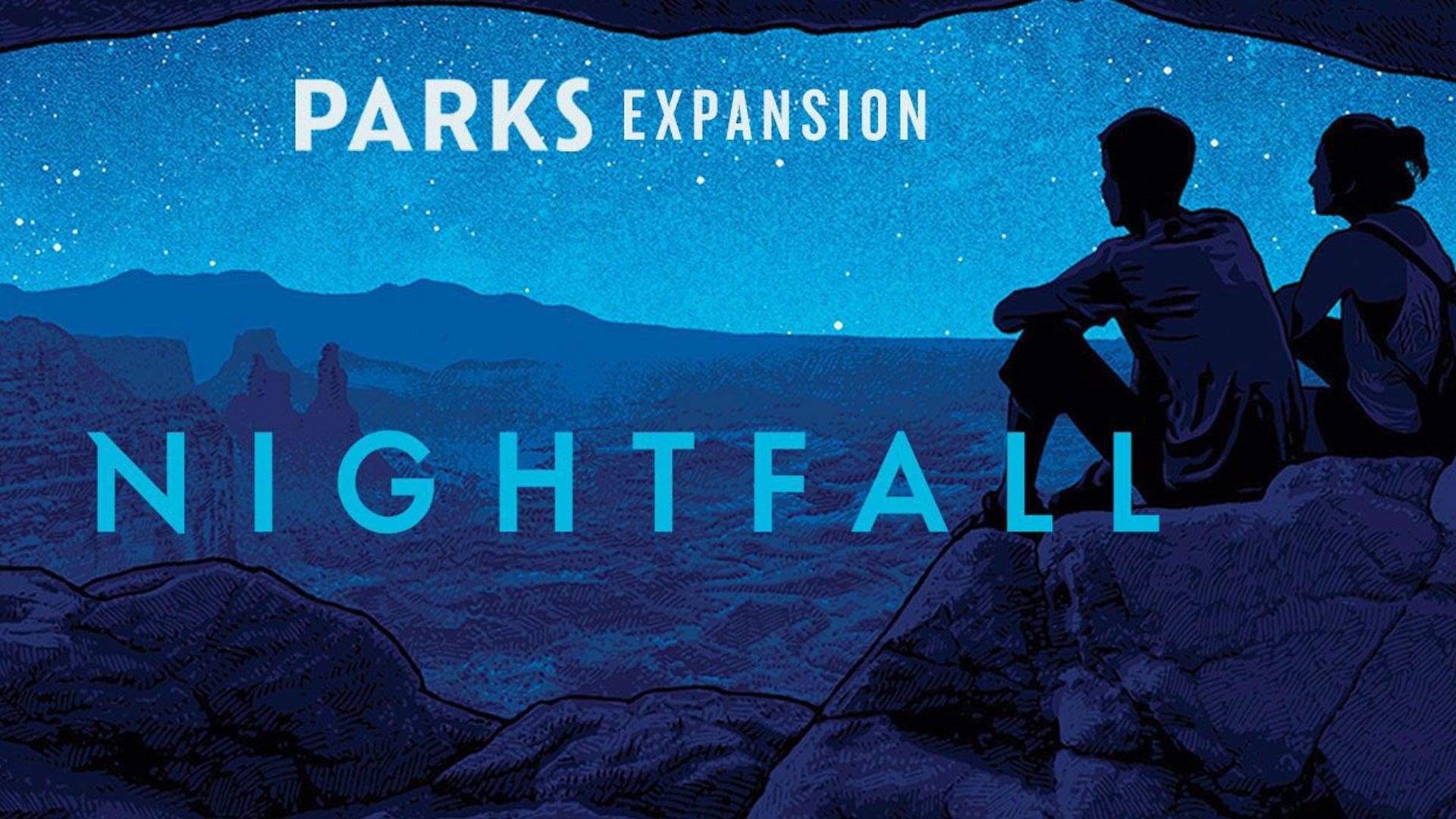 Parks: Nightfall board game artwork