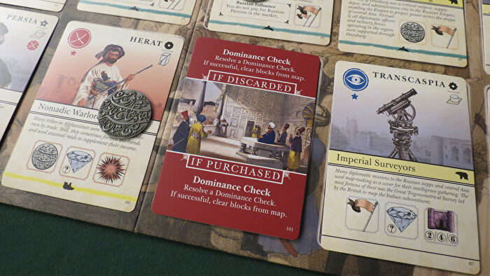 Pax Pamir 2E board game cards