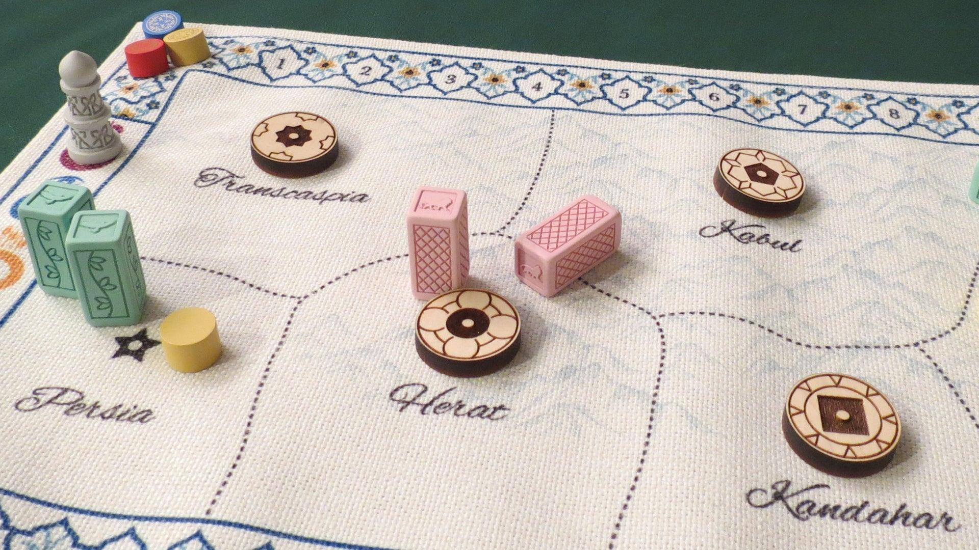 Pax Pamir 2E board game gameplay