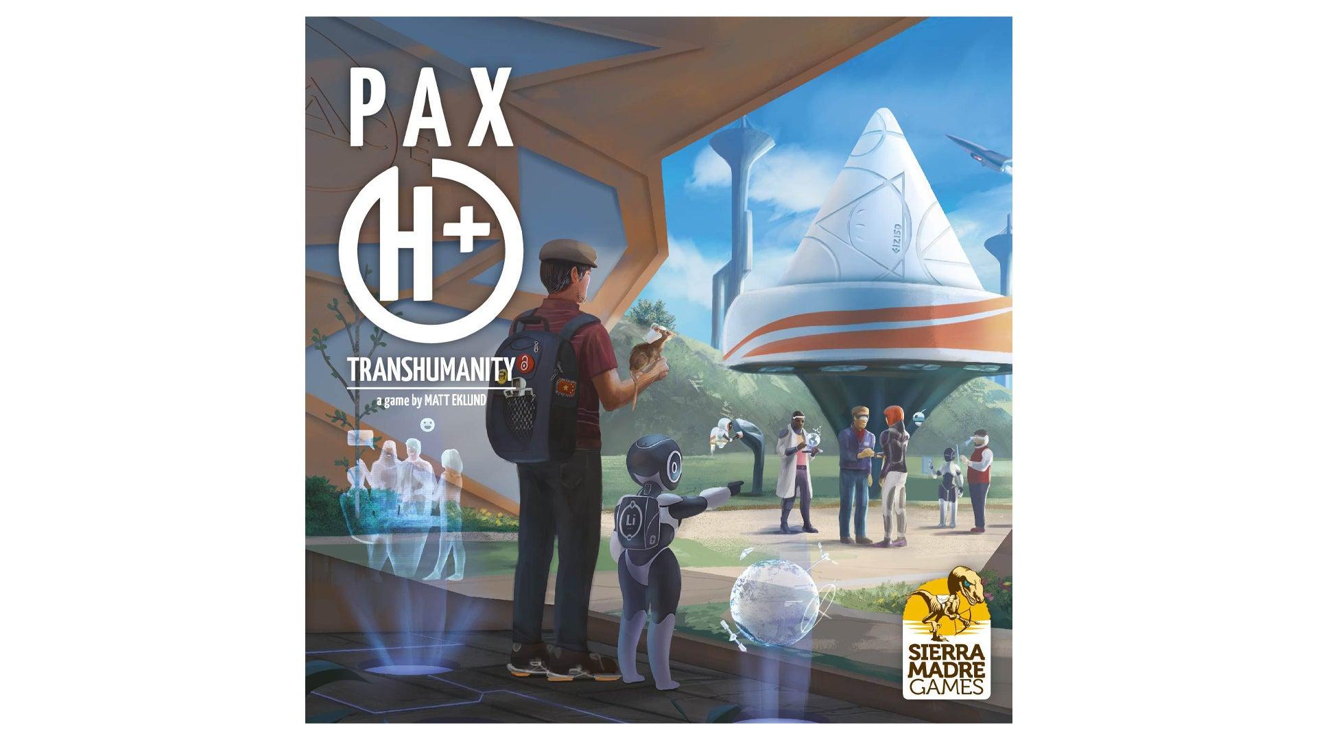 Pax Transhumanity board game box