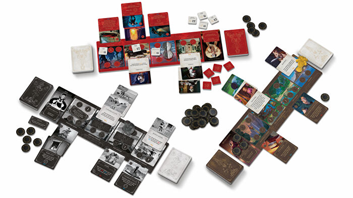 Disney Villainous: Perfectly Wretched board game layout