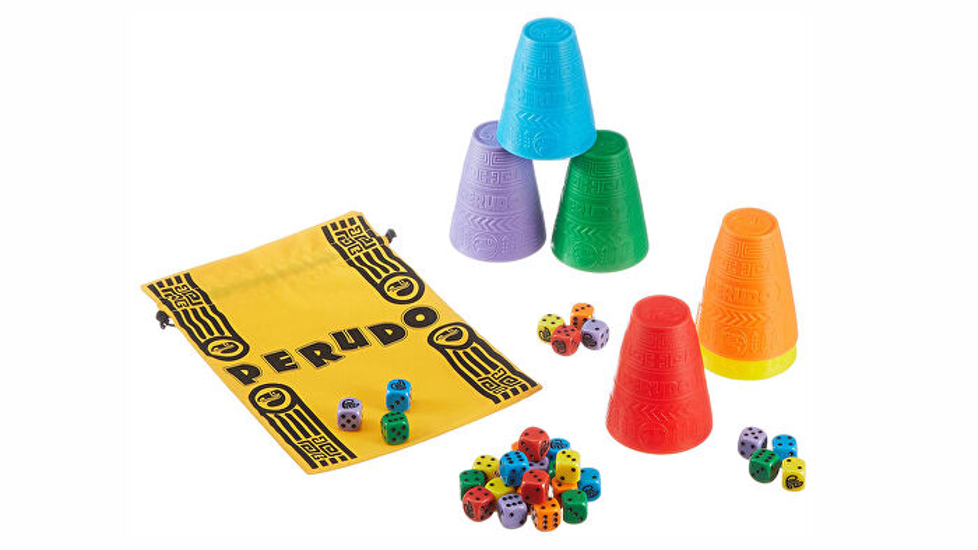 Perudo board game layout