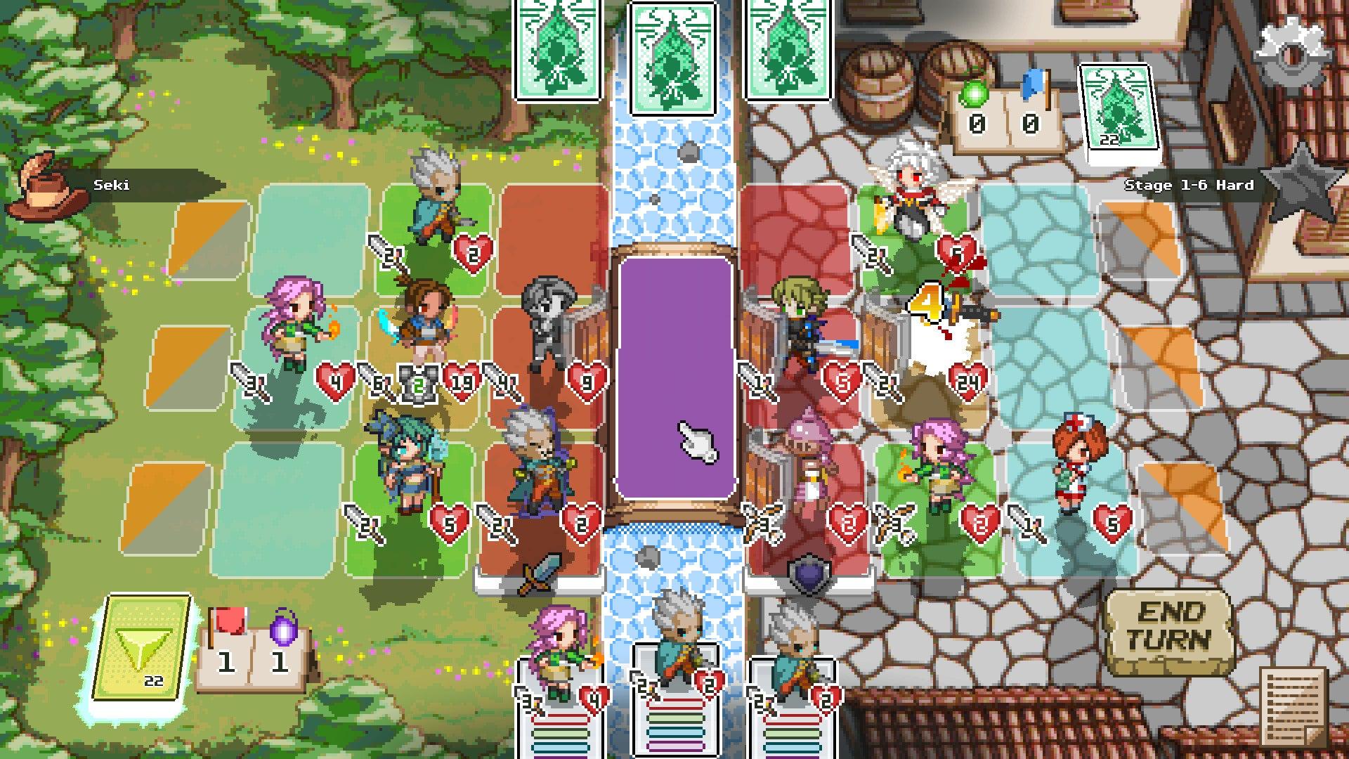 Pixel Tactics Online screenshot 2
