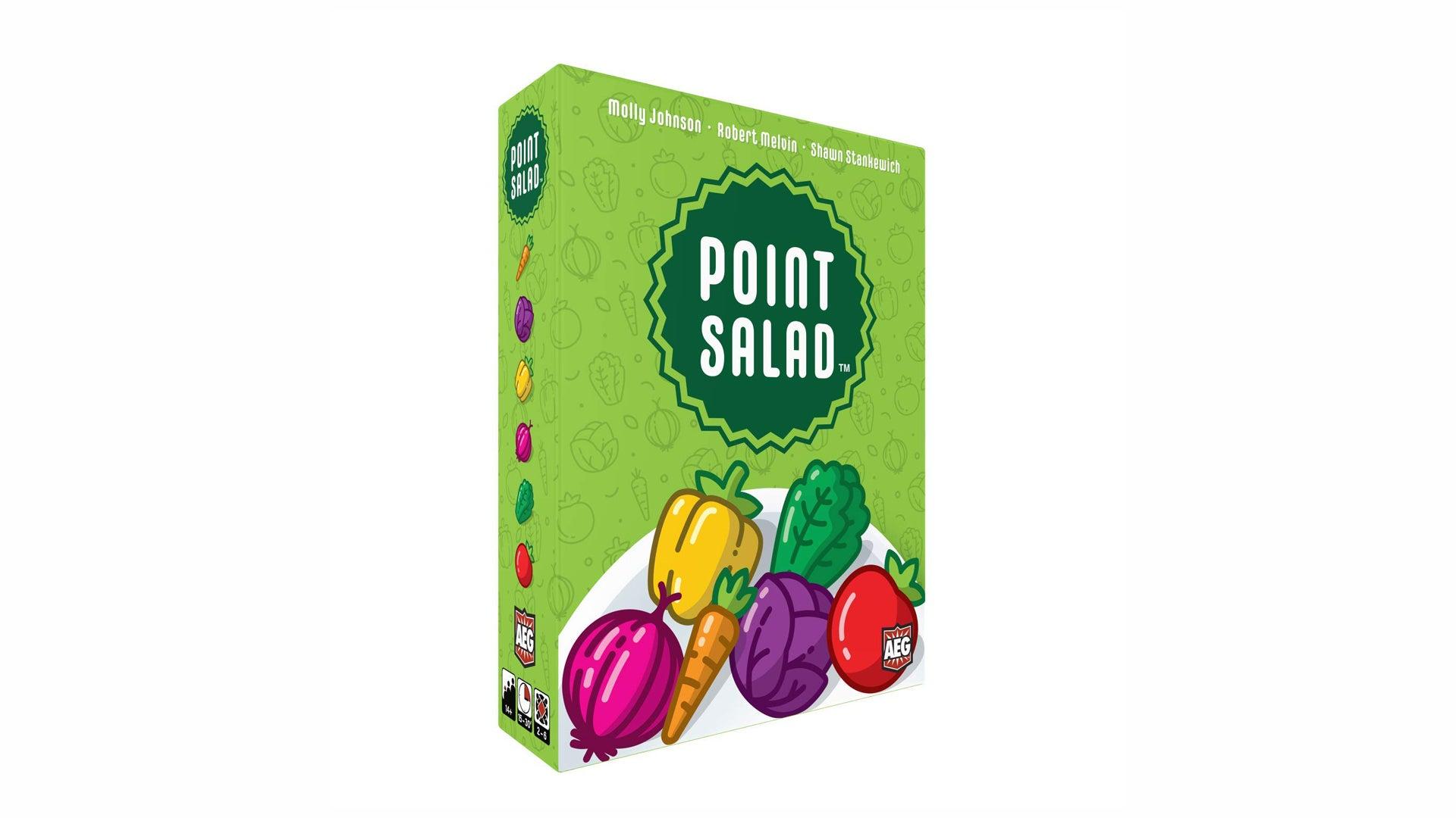 Point Salad board game box
