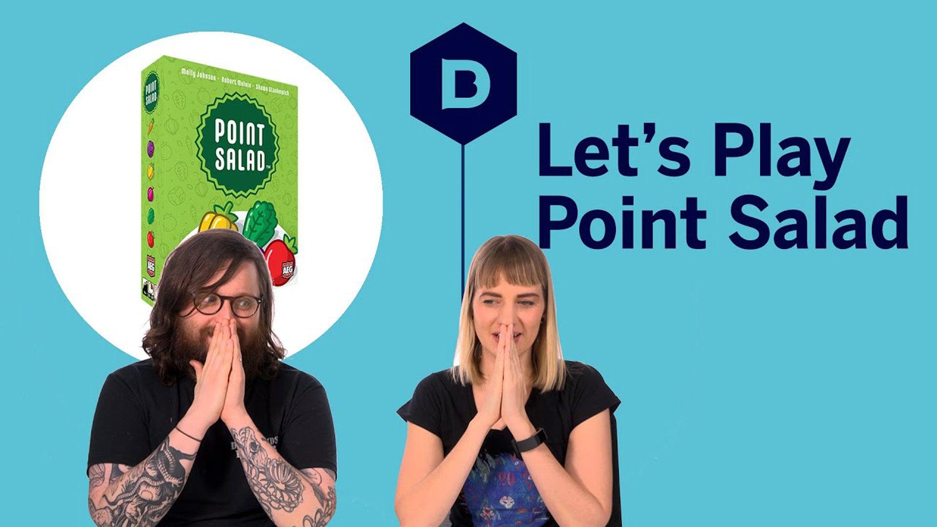 Point Salad Let's Play Thumbnail