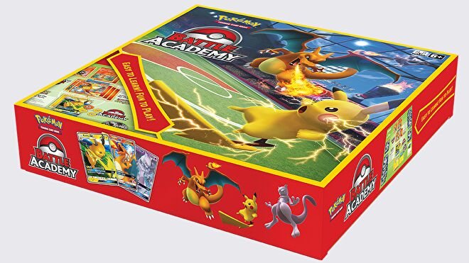 Pokemon TCG Battle Academy box artwork