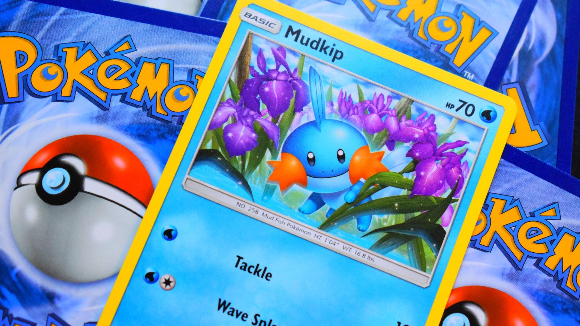 Pokemon Trading Card Game card Mudkip