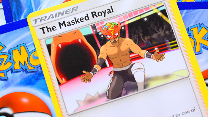 Pokemon Trading Card Game card The Masked Royal