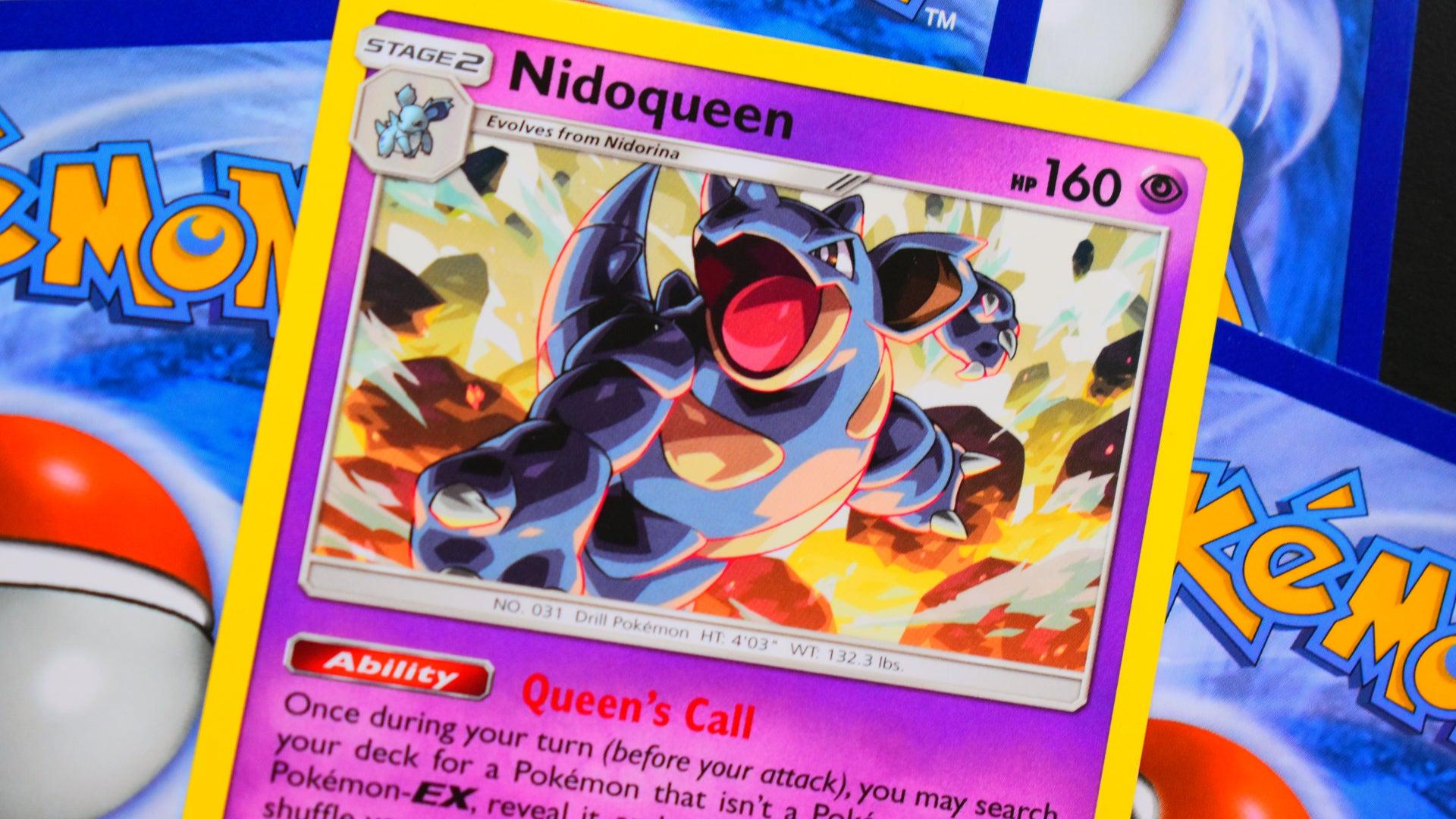 Pokemon Trading Card Game card Nidoqueen