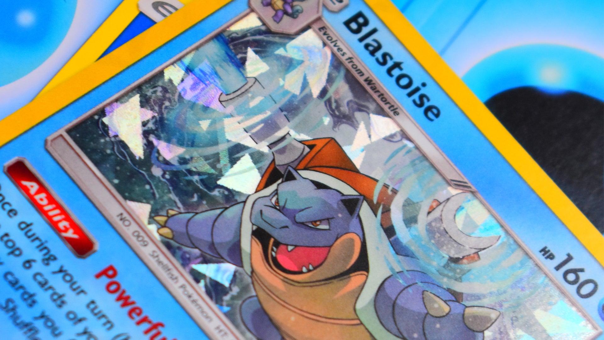 Pokemon Trading Card Game card Blastoise
