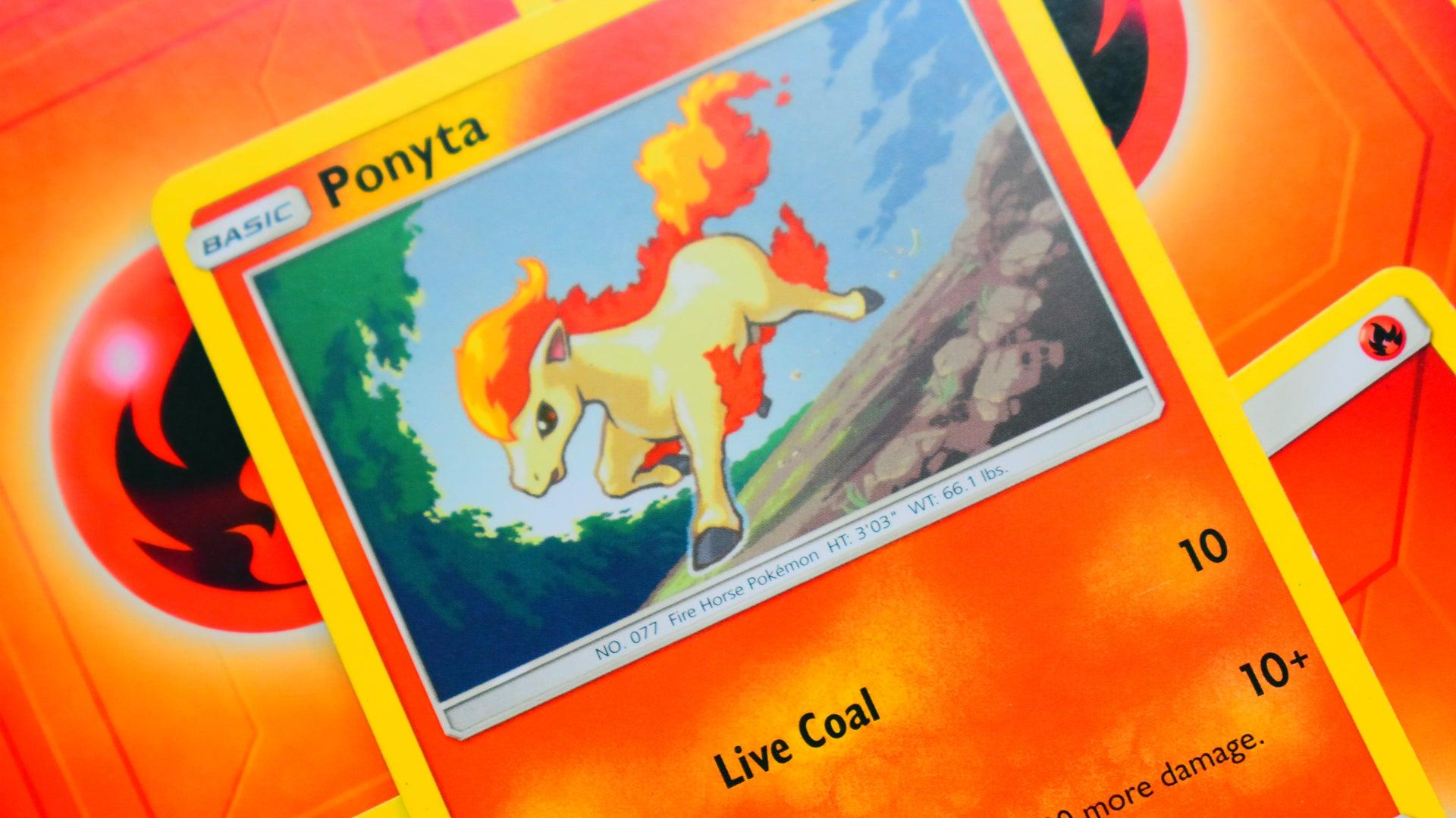 Pokemon Trading Card Game card Ponyta