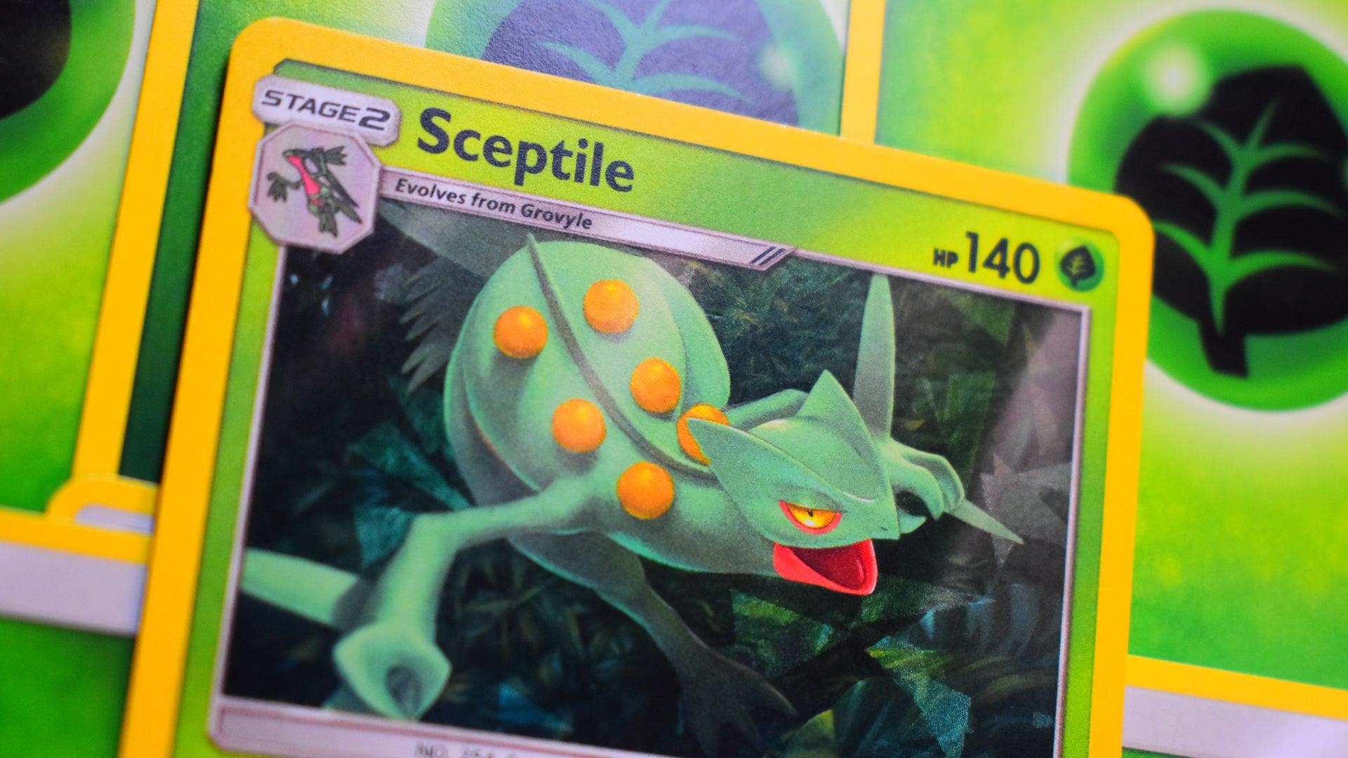 Pokemon Trading Card Game card Sceptile