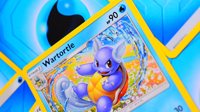 Pokemon Trading Card Game card Wartortle