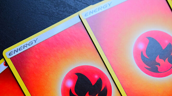 Pokemon Trading Card Game energy cards Fire