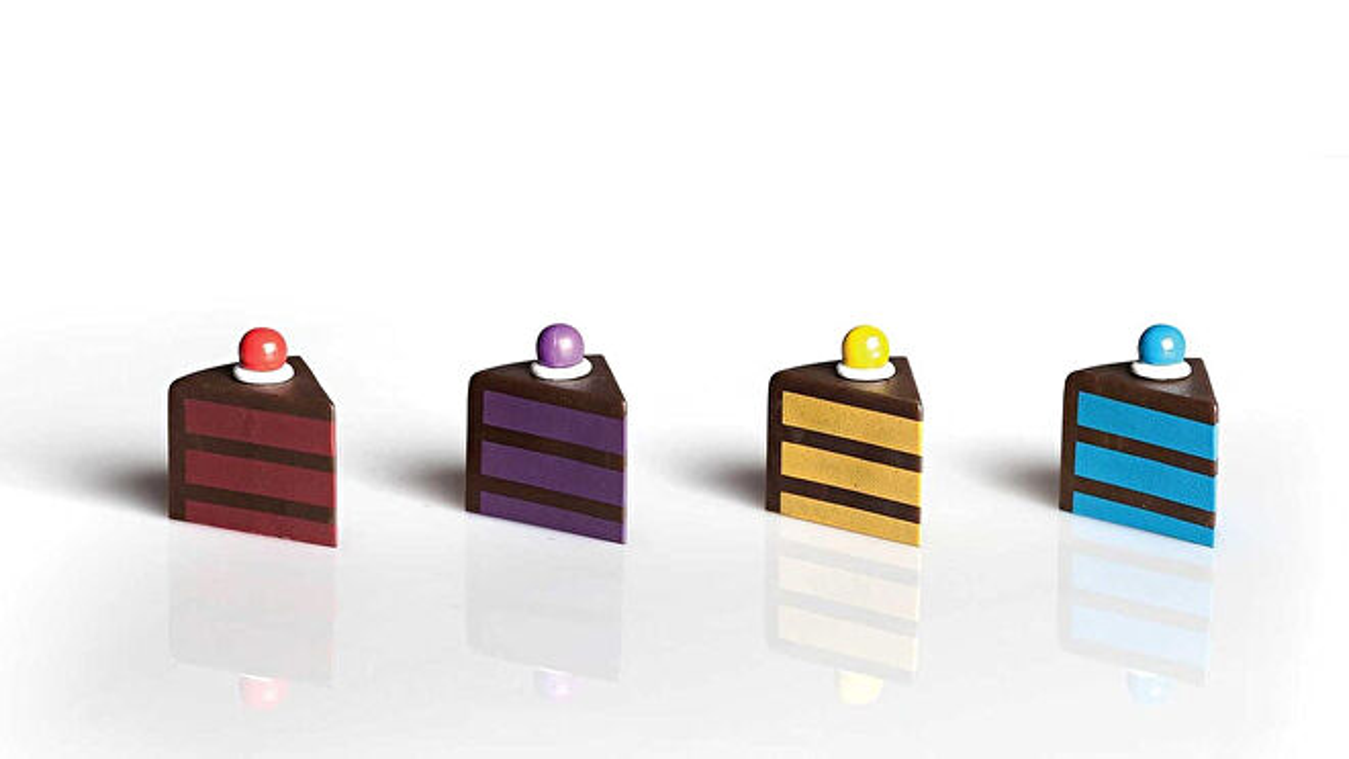 Portal: The Uncooperative Cake Acquisition Game pieces
