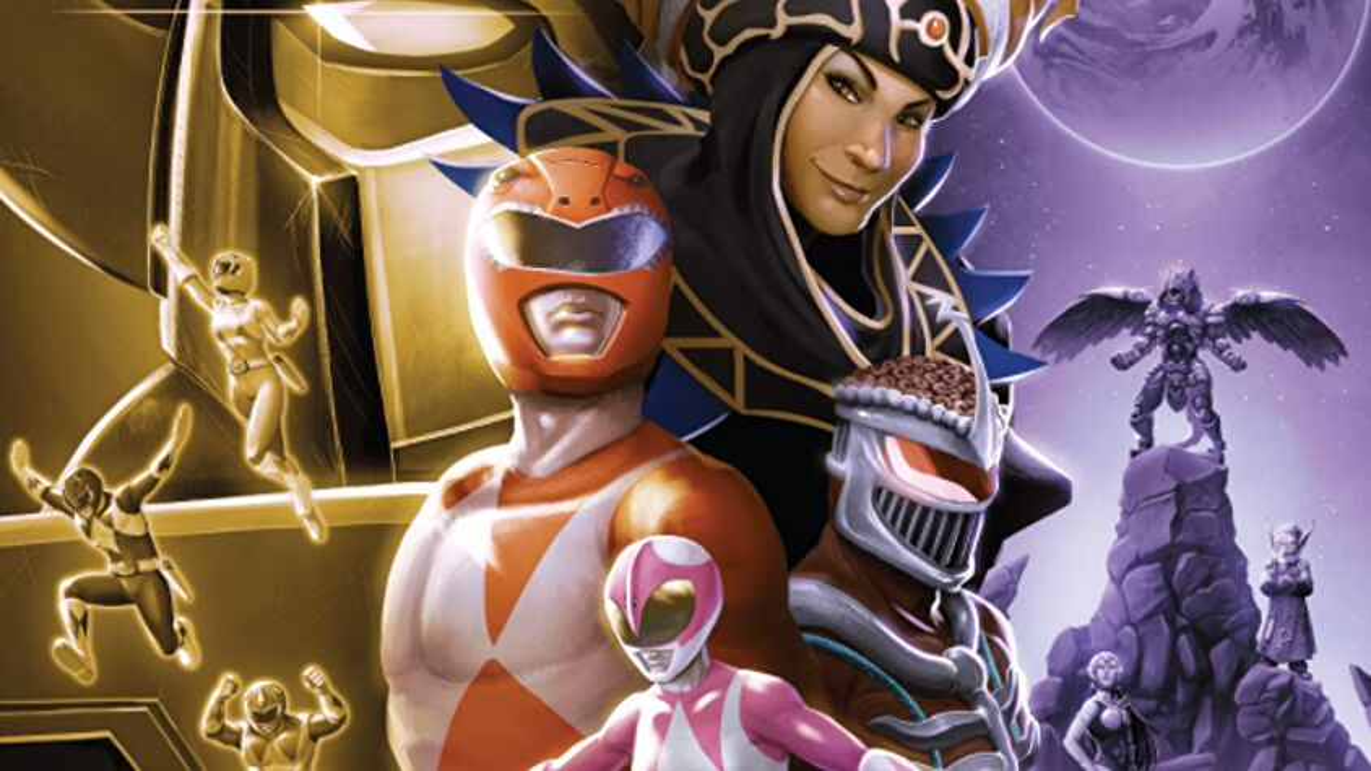 Power Rangers: Deck-Building Game Artwork