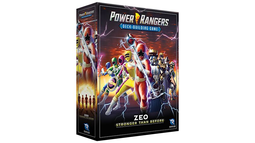 Power Rangers: Deck-Building Game - Zeo game box