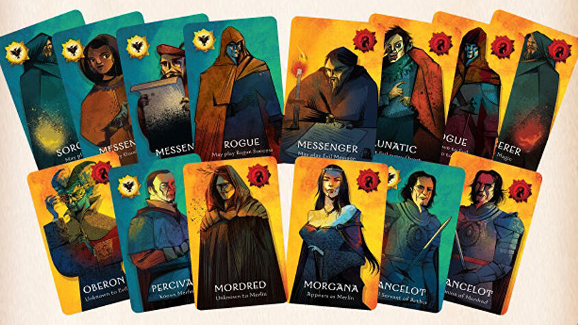 Quest board game cards 2