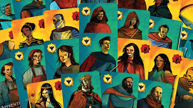 Quest board game cards