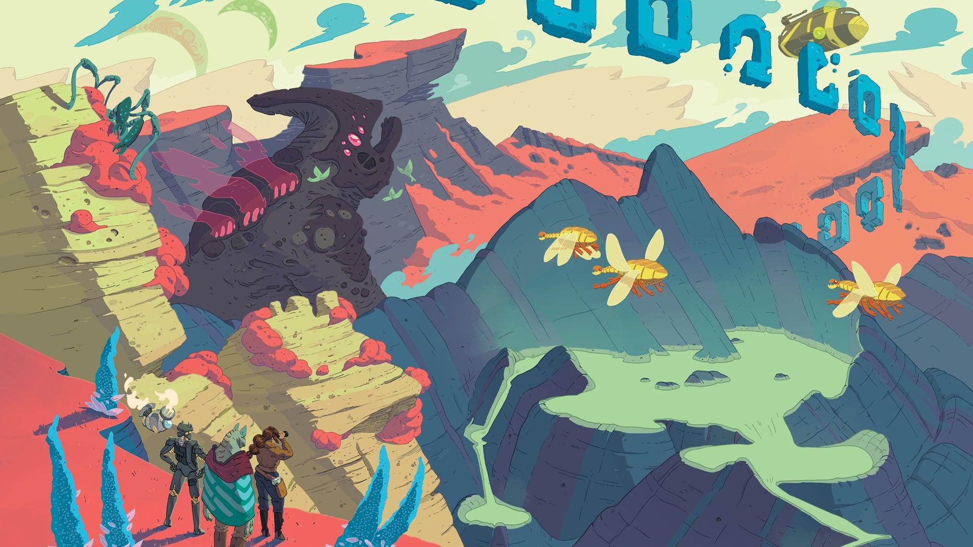 Quest: Cosmic Fantasy Edition artwork