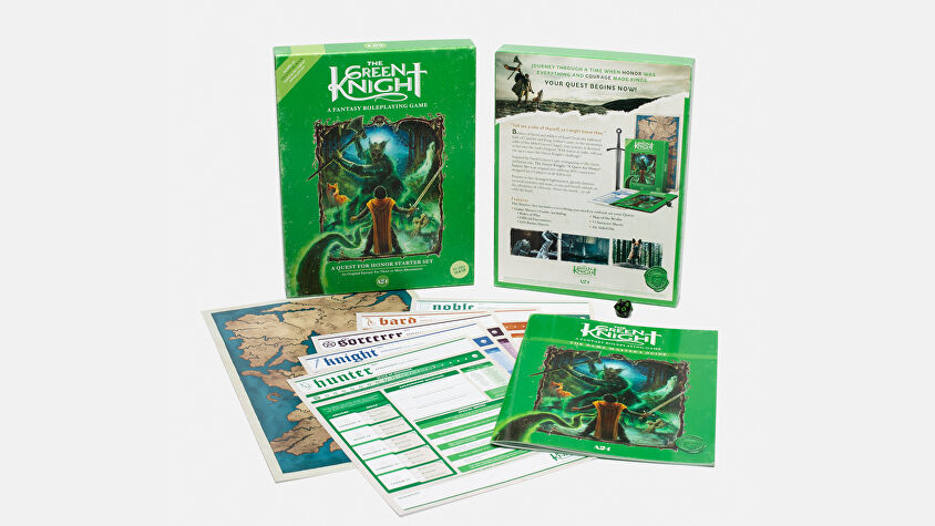Quest for Honor - The Green Knight - RPG - layout