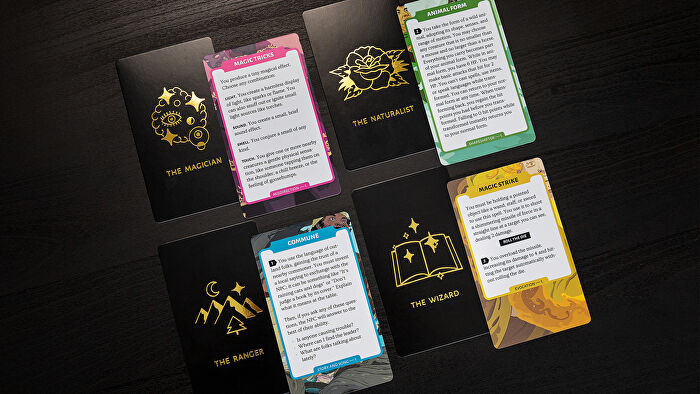 Quest roleplaying game cards