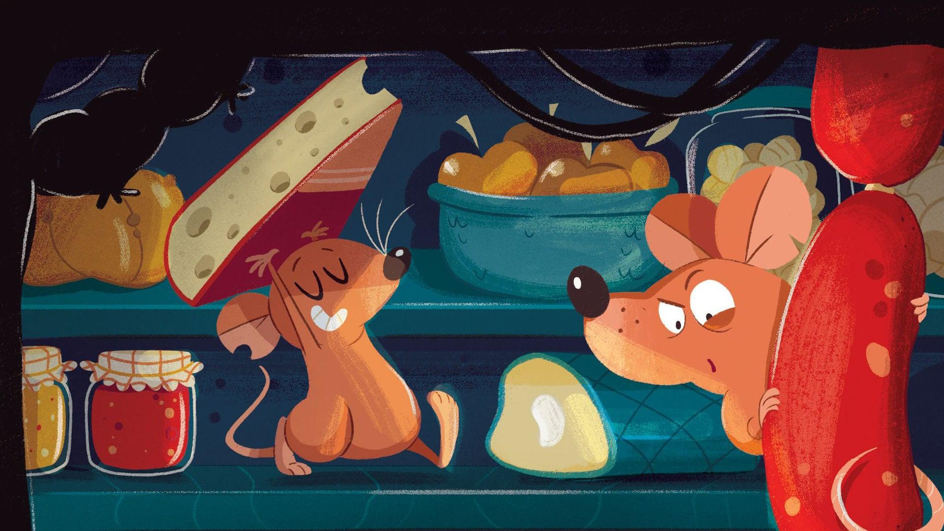 Ratzzia board game artwork