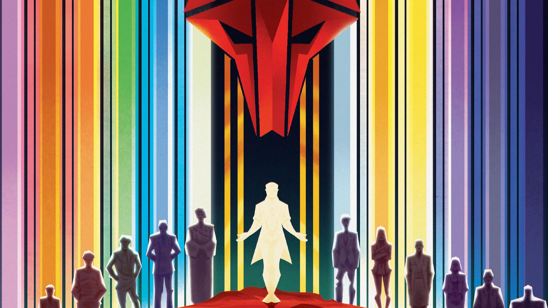 Red Rising board game artwork